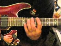Neoclassical Shredder style E minor String Skipping & Sweep Picking Arpeggio Guitar Lesson