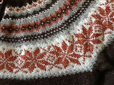 Bilderesultat for nancykofte Knitting Designs, Knitting Patterns Free, Free Knitting, Free Pattern, Nordic Sweater, Fair Isle Pattern, Fair Isle Knitting, Vintage Knitting, Knit Crochet