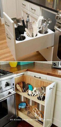 Kitchen Room Design, Kitchen Redo, Home Decor Kitchen, Interior Design Kitchen, New Kitchen, Home Kitchens, Kitchen Ideas, Country Kitchen, Tiny Kitchens