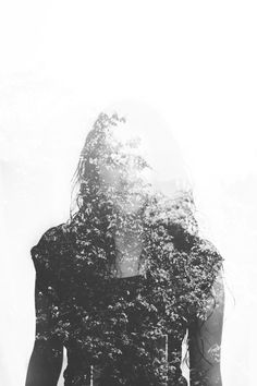 Double exposure photography by Andre De Freitas