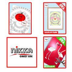 Adult and kids coloring page  flamingo printable   Digital - Pagina da colorare per adulti e bambini - disegno da colorare - fenicottero stampabile - Download digitale - PDF download - A4 -