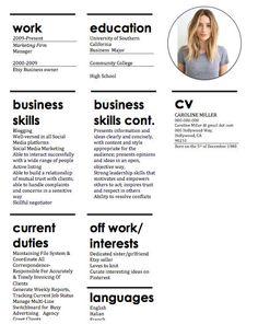 Resume Design Modern Resume Template Resume by CareerGirlDesigns