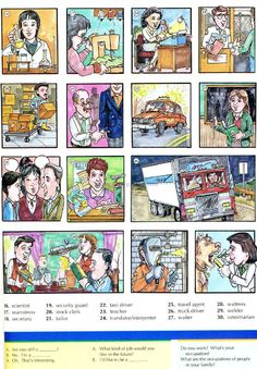 79 - OCCUPATIONS 2B - Pictures dictionary - English Study