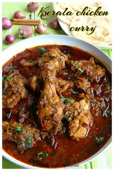 Mutton (or lamb) chops curry Kerala Chicken Recipes, Kerala Chicken Curry, Chettinad Chicken, Chicken Curry Recipes, Kerala Recipes, Chicken Chops Recipe Indian, Sri Lankan Chicken Curry, Quick Chicken Curry, Chicken Karahi