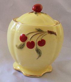 Royal Winton Cherry Cherries Preserve Pot