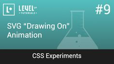 """#9 SVG """"Drawing On"""" Animation - CSS Experiments"""