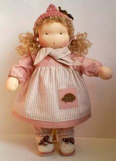Waldorf Doll tutorial. En ruso, pero buenas fotos