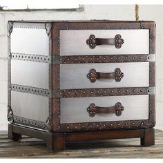 Hooker Furniture Melange Bondurant 3 Drawer Accent Chest   Wayfair