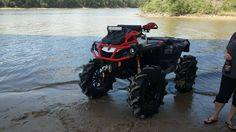 Can Am Atv, Snow Toys, Atv Motocross, Four Wheelers, Atvs, Outdoor Fun, Toys For Boys, Outlander, Motorbikes