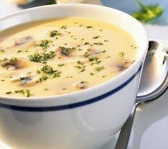 Грибной суп-пюре с сыром (100 гр - 116.30 ккал)