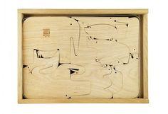 Enzo Mari wooden puzzle - fanny & alexander blog <3