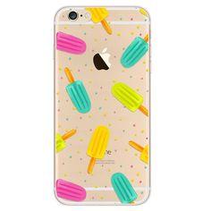 Popsicle Dreams Ice Cream Fun Case For iPhone 6 6s, 6s Plus