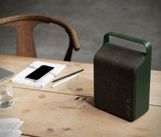 Vifa is a Danish audio company that craft beautiful speakers with simple organic lines and focus on functionality. With its charming Scandinavia design, the Vifa Oslo portable Bluetooth speaker sounds as good as it looks, it delivers powerful audio w