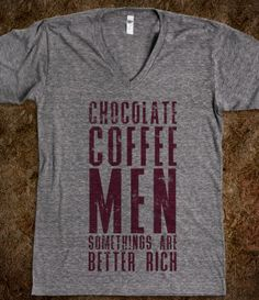 Chocolate Coffee Men, hell yesss