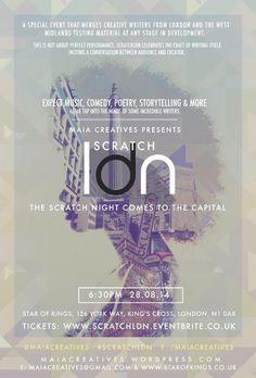 Visuale | Art | Photography | Magazine | Birmingham | Visuale | Event: Scratch LDN
