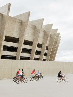 BCMF, gmp, Gustavo Penna Arquiteto, Schlaich Bergermann und Partner, Estádio Mineirão (Estádio Governador Magalhães Pinto), Belo Horizonte, Brasile