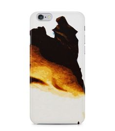 Graceful Brown and Yellow Abstract Picture 3D Iphone Case for Iphone 3G/4/4g/4s/5/5s/6/6s/6s Plus - ARTXTR0208 - FavCases