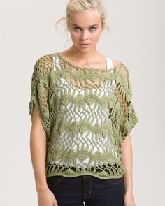 want this #fashion #style #pretty #crochet