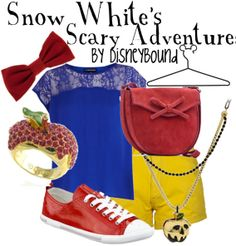 Snow White's Scary Adventure by disneybound #Imightwearthis