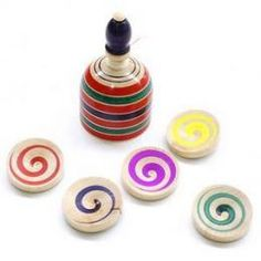 UFO Spinning Top