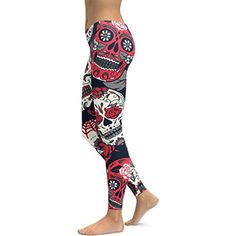 e48385996402c Yoga Pants for Womens, FORUU High Waist Printed Running Fitness Leggings  Workout ***