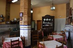 An old fashioned restaurant: economic but fantastic homemade Spanish recipes