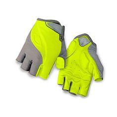Giro Tessa Gel Glove - Women's Titanium/Highlight Yellow,...