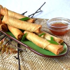 Lumpiang Shanghai with Pork and Prawn Filling - FilIipino Spring Rolls