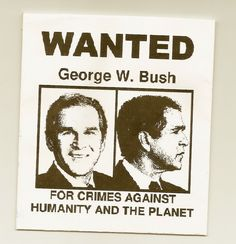 hate for bush - Google Search