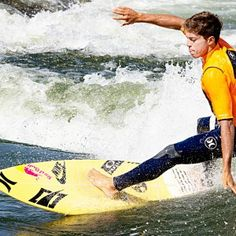 Kai Lenny #riversurfing at the #PRGS 2014. #Riverbreak http://riverbreak.com
