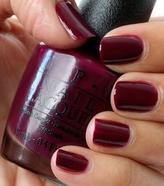 OPI In the Cable Car-pool Lane (San Francisco collection, fall/winter 2013)
