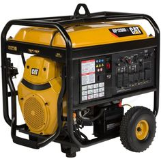 Caterpillar 502 3699 Cat Rp12000 E 12 000 Watt Electric Start