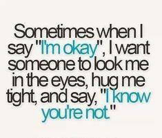 Tudo que eu queria. Fun fact: eu nem gosto de abraços.