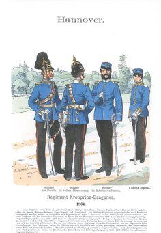 Band XI #42. - Hannover. Regiment Kronprinz-Dragoner. 1864.