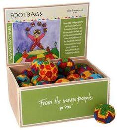 hochwertige Jonglierausrüstung für Anfänger, 40 Foot-Bags, 40 Kleine gehäkelte Jonglierbälle für Kids,