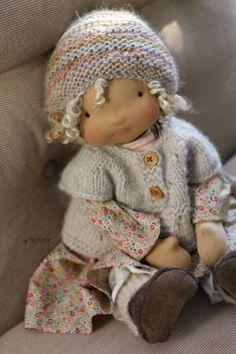 margareteshandmadebox, walldorf puppe, waldorf, puppe, Puppe selber machen