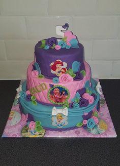 Disney prinsessen taart