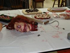 Food Table Display
