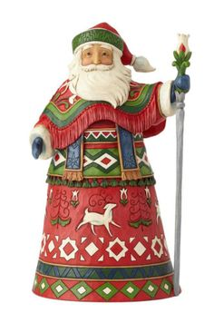Heartwood Creek Santa Figurine Joyful Journey by Jim Shore 4058783