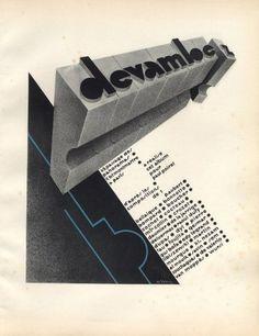 Devambez advertising in PAN by Paul Poiret, 1928