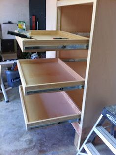 kitchen shelf drawer! way cheaper thant he kits in stores!