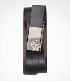 2-IN-1 REVERSIBLE LASER ETCHED BUCKLE BELT at Express