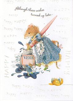 Vera the Mouse by Marjolein Bastin