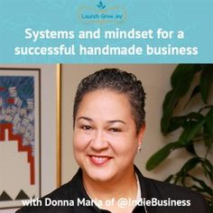systems and mindset for a successful handmade business