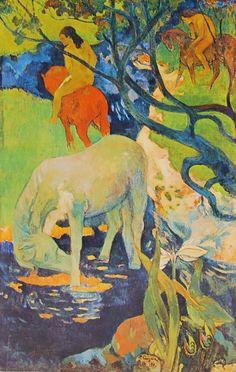 gauguin il cavallo bianco - Cerca con Google