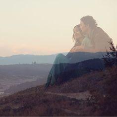 Fleetwood Mac Meets Tuscany Wedding: Claribelle + Van by June Lion Photography - via greenweddingshoes