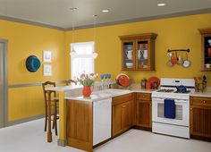 This is the project I created on Behr.com. I used these colors: Citronne(T16-09),MAY APPLE(P350-2),SORREL LEAF(N340-6),GRASSY SAVANNAH(N340-5),URBAN SAFARI(PPU8-04),FLOWERY(M330-2),BROWN MUSTARD(360D-7),ADVENTURER(N330-7),
