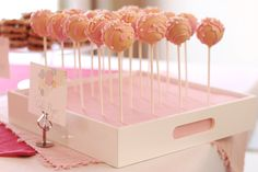 cake pop display