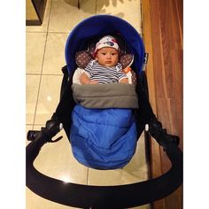 Hello baby, so cute in your BABYZEN stroller :-)#baby #cute #YOYO #BABYZEN @novitasunardi www.babyzen.com