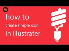 how to create an simple icon using rectangle and ellipse tool in illustrator